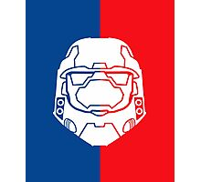 Halo Master Chief - Red V Blue Photographic Print