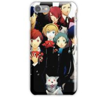 Persona 3 Portable Cast Design iPhone Case/Skin