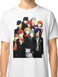 Persona 3 Portable Cast Design Classic T-Shirt
