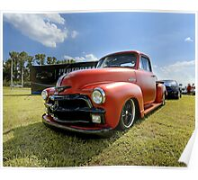 1954 Chevy 3100 Pickup Poster
