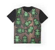 Lost robots Fiction Futuristic Graphic T-shirt Graphic T-Shirt