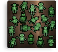 Lost robots Fiction Futuristic Graphic T-shirt Canvas Print