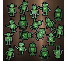 Lost robots Fiction Futuristic Graphic T-shirt Photographic Print