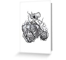 Vengeful Ghost Greeting Card