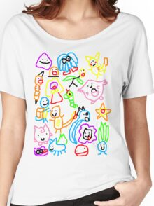 Poorly Drawn Pokemon Women's Relaxed Fit T-Shirt