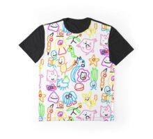 Poorly Drawn Pokemon Graphic T-Shirt