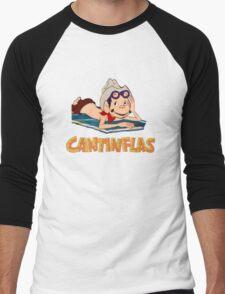 Cantinflas - At the Beach Men's Baseball ¾ T-Shirt