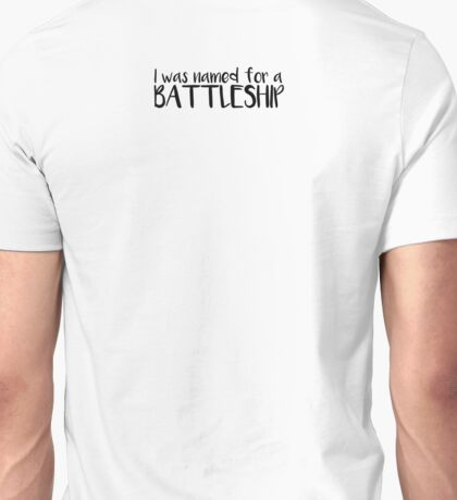 Battleship Unisex T-Shirt