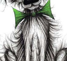 Frizzy dog Sticker