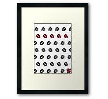 Costa Coffee Beans Framed Print