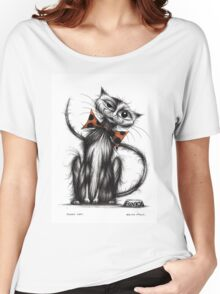 Funky cat Women's Relaxed Fit T-Shirt