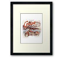 cruise Framed Print