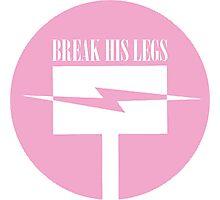 Nora: Break His Legs - RWBY Photographic Print