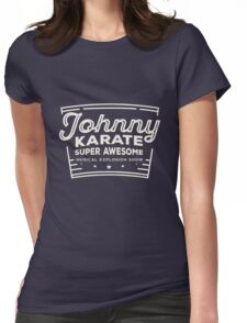 Johnny karate  Womens Fitted T-Shirt