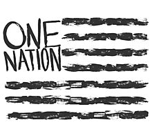 One Nation Photographic Print