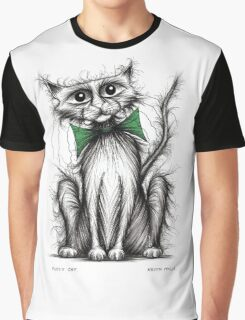 Fuzzy cat Graphic T-Shirt