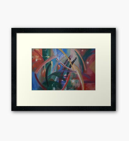 MANY OBSTACLES ON THE WAY TO PARADISE(2011) Framed Print