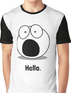 Hello Cartoon Graphic T-Shirt