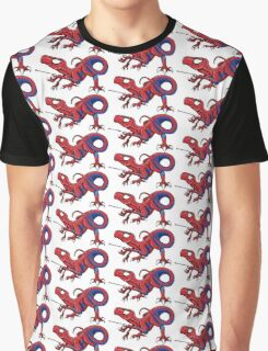 The Amazing Spideraptor! Graphic T-Shirt