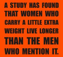 Study Found Extra Weight Kids Tee