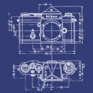 Vintage Photography: Nikon Blueprint by brainsontoast