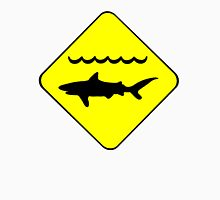 Warning Sharks Symbol Unisex T-Shirt