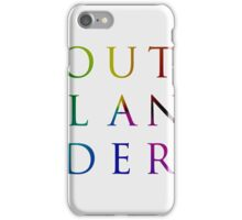 Colorful Outlander iPhone Case/Skin