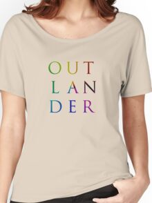 Colorful Outlander Women's Relaxed Fit T-Shirt