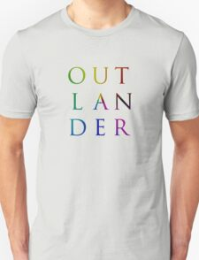 Colorful Outlander Unisex T-Shirt