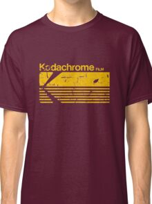 Vintage Photography: Kodak Kodachrome - Yellow Classic T-Shirt