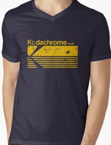 Vintage Photography: Kodak Kodachrome - Yellow Mens V-Neck T-Shirt