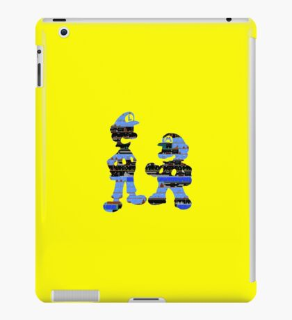 Mario & Luigi - Nintendo iPad Case/Skin