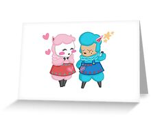 Reese and Cyrus Greeting Card