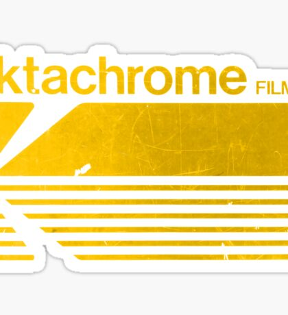 Vintage Photography: Kodak Ektachrome - Yellow Sticker