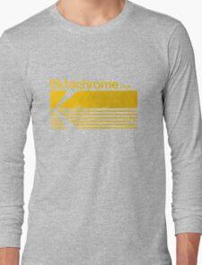 Vintage Photography: Kodak Ektachrome - Yellow Long Sleeve T-Shirt