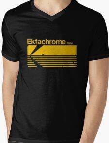 Vintage Photography: Kodak Ektachrome - Yellow Mens V-Neck T-Shirt