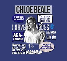 Chloe Beale - Pitch Perfect - Bechloe - Brittany Snow Unisex T-Shirt