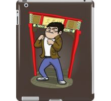 About to kick your ass. iPad Case/Skin