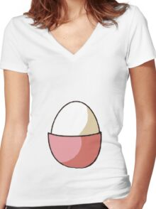 Chansey Women's Fitted V-Neck T-Shirt
