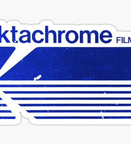 Vintage Photography: Kodak Ektachrome - Blue Sticker