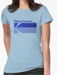 Vintage Photography: Kodak Ektachrome - Blue Womens Fitted T-Shirt