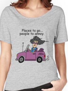 Funny Sarcasm Old People Annoying Women's Relaxed Fit T-Shirt