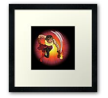 Nina Nitro - Action Figures Framed Print
