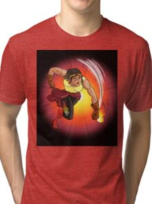 Nina Nitro - Action Figures Tri-blend T-Shirt