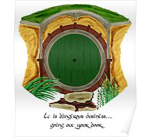Hobbit - Dangerous Business Poster