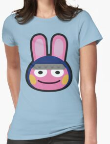 SNAKE ANIMAL CROSSING Womens Fitted T-Shirt