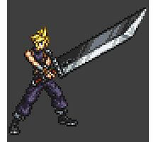 FFRK Boss Sprite - Cloud Strife (FF7) Photographic Print
