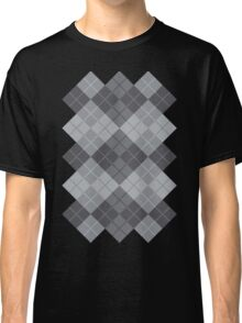 Grey Argyle Classic T-Shirt