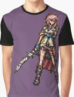 FFRK Boss Sprite - Lightning (FF13) Graphic T-Shirt