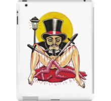 JACK THE RIPPER on white iPad Case/Skin
